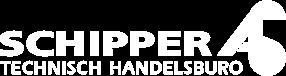 Schipper Techniek logo wit